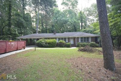 Atlanta Single Family Home New: 1606 Childress Drive