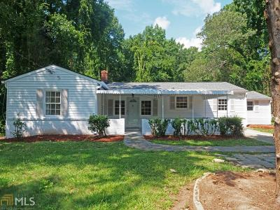 Atlanta Single Family Home New: 1401 Fairburn Rd