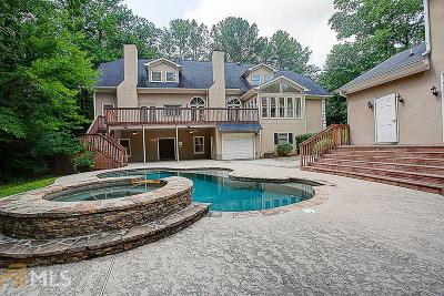 Roswell Single Family Home Under Contract: 2010 Stonehedge Rd
