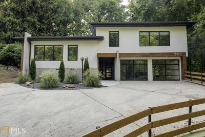 Atlanta Single Family Home New: 3322 Pinestream Rd