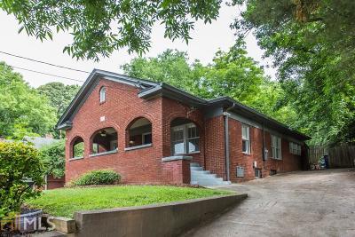 Atlanta Single Family Home New: 958 E Confederate