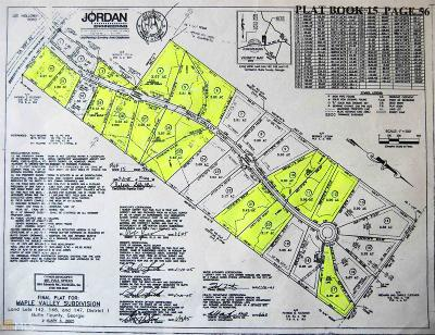 Residential Lots & Land For Sale: Maple Valley #Lot #20