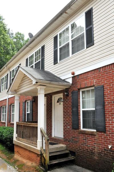 Marietta Condo/Townhouse For Sale: 1651 Massachusetts