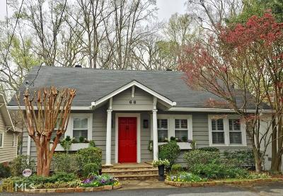 Peachtree Hills Single Family Home For Sale: 68 Peachtree Hills Dr