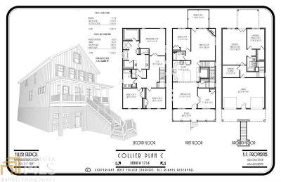Smyrna Single Family Home For Sale: 1368 Pierce Ave