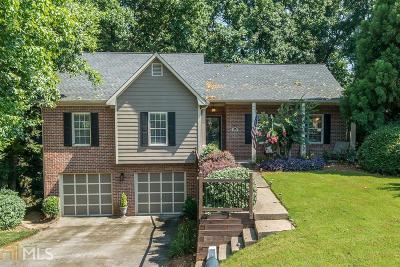 Alpharetta Single Family Home Under Contract: 4860 Hampton Square Dr
