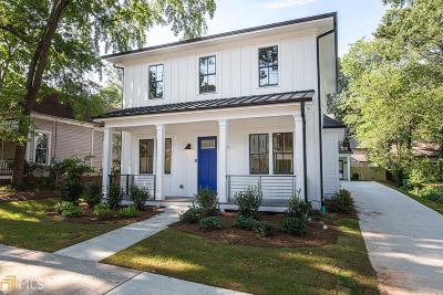 Reynoldstown Condo/Townhouse For Sale: 991 Mauldin St #A