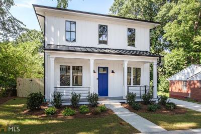Reynoldstown Condo/Townhouse For Sale: 991 Mauldin St #B