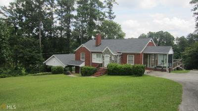 Haddock, Milledgeville, Sparta Single Family Home For Sale: 1615 Pine Valley Rd