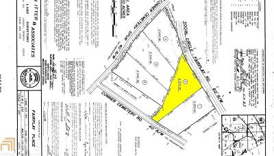 Social Circle Residential Lots & Land Under Contract: 268 Social Circle Fairplay Rd