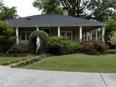Conyers Single Family Home Under Contract: 1006 North Main St