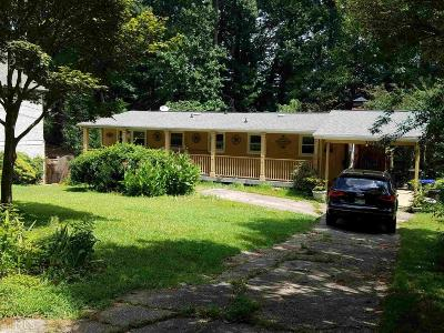 Chamblee Single Family Home For Sale: 3599 Vanet Rd