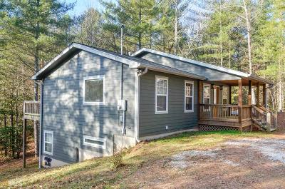 Rabun County Single Family Home For Sale: 1208 Ramey Rd
