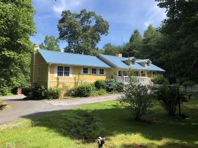Sautee Nacoochee Single Family Home For Sale: 1795 Panorama