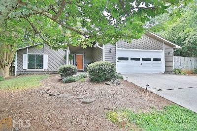 Roswell Single Family Home Under Contract: 9800 Lake Forest Way
