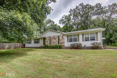 Rockdale County Single Family Home Under Contract: 2343 Cedar Mill Dr