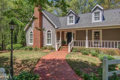 Social Circle Single Family Home Under Contract: 740 River Cove Rd