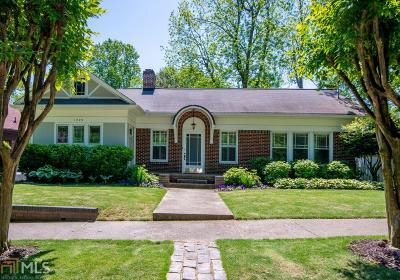 Virginia Highland Single Family Home For Sale: 1099 Stillwood Dr