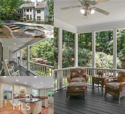 Johns Creek Single Family Home For Sale: 10739 Bell Rd