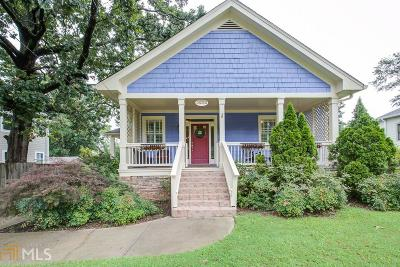 College Park Single Family Home Under Contract: 3282 Madison St