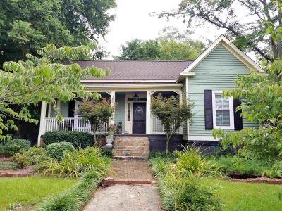 Senoia Single Family Home Under Contract: 105 Bridge St