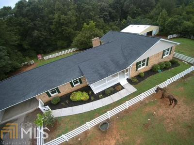 Winder Single Family Home Under Contract: 1195 Lackey