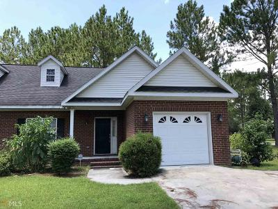 Statesboro Condo/Townhouse For Sale: 1124 Southbend Dr #A