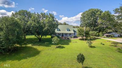 Monroe, Social Circle, Loganville Single Family Home For Sale: 412 Double Springs Rd