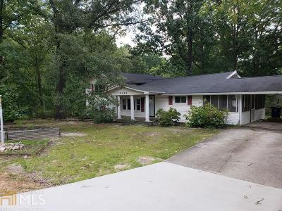 Douglasville Single Family Home Under Contract: 6068 Cooper