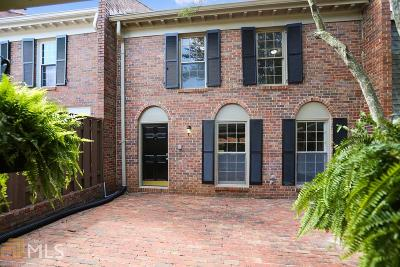 Fulton County Condo/Townhouse For Sale: 447 The North Chace