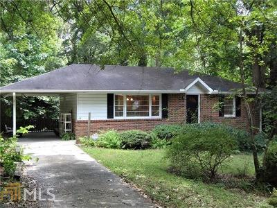 Brookhaven Single Family Home Under Contract: 1687 Wayland Cir