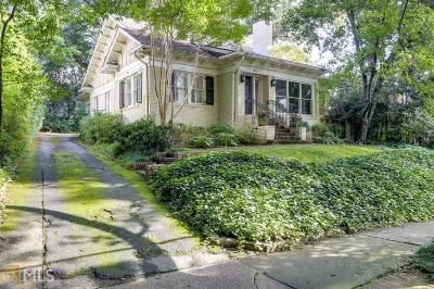 Brookwood Hills Single Family Home Under Contract: 98 Huntington