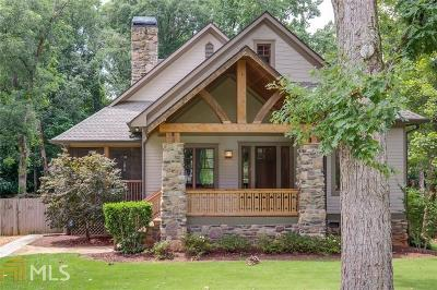 Atlanta Single Family Home Sold: 1315 Sargent Ave