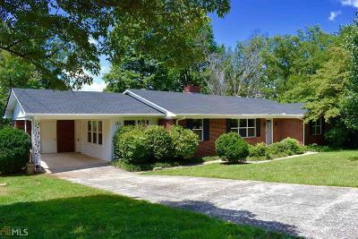 Cornelia Single Family Home Under Contract: 146 Huff Ave