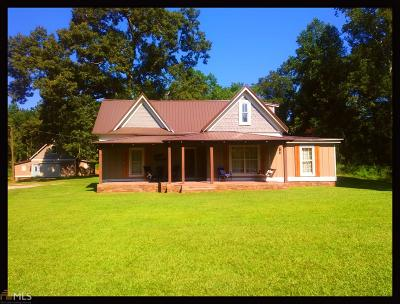Temple Single Family Home Contingent With Kickout: 1064 Taylors Gin Rd