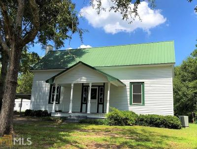 Elbert County, Franklin County, Hart County Single Family Home Under Contract: 40 E Church St