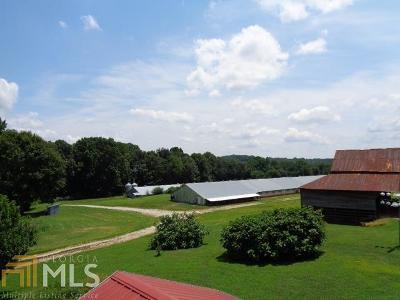 Banks County Farm For Sale: 835 Hawkins Rd