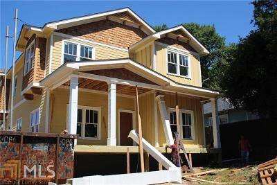 Atlanta Single Family Home Sold: 973 Rawlins St