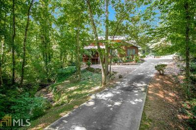 Roswell Single Family Home For Sale: 1265 Ridgefield Dr