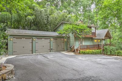 Dawsonville Single Family Home Under Contract: 267 Sundown Way