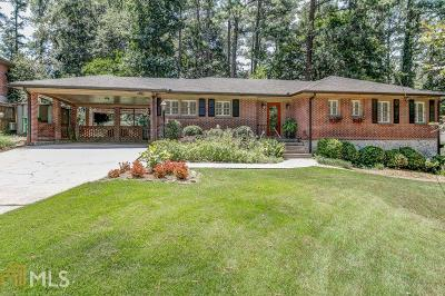Decatur Single Family Home Under Contract: 2602 Tanglewood Rd