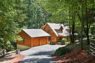 Dawsonville Single Family Home Under Contract: 467 Blacks Mill Rd