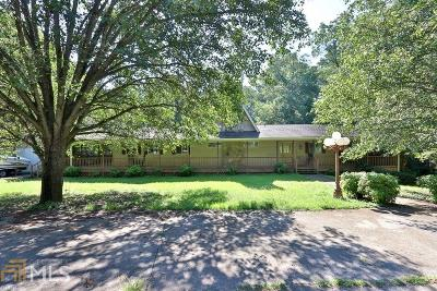 Acworth Single Family Home Under Contract: 4440 Old Grogan Rd