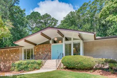 Stone Mountain Single Family Home Under Contract: 1935 Musket