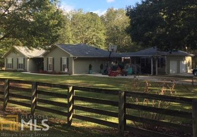 Coweta County Single Family Home Under Contract: 5135 Lower Fayetteville Rd