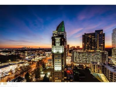 Realm Condo/Townhouse For Sale: 3324 Peachtree Rd #1112