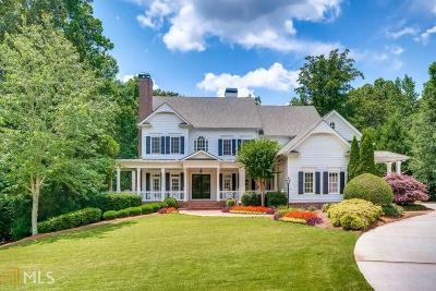 Alpharetta, Milton, Roswell Single Family Home For Sale: 870 Foxhollow Run