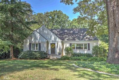 Gainesville Single Family Home For Sale: 640 Crestview Ter