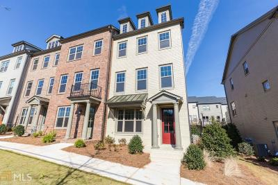 Roswell Condo/Townhouse For Sale: 10120 Windalier Way