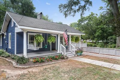 Historic Marietta Single Family Home For Sale: 583 Etowah Dr